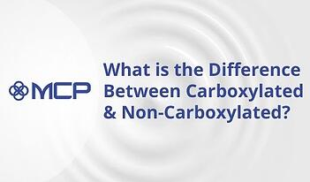 carboxylated vs non-carboxylated