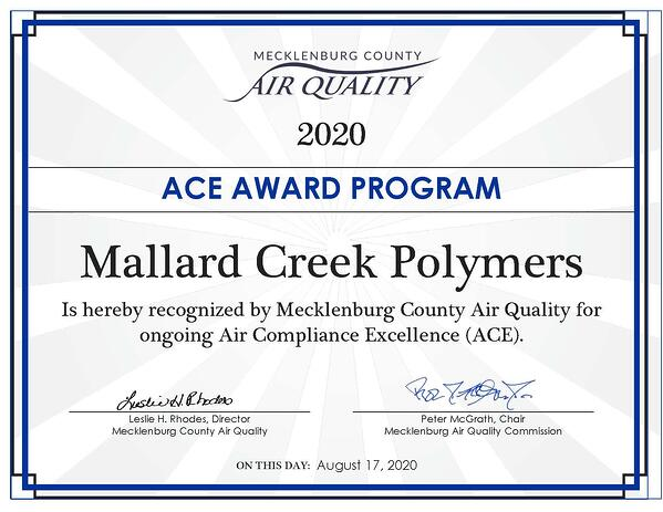 Mallard Creek Polymers
