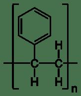 Polystyrene atactic